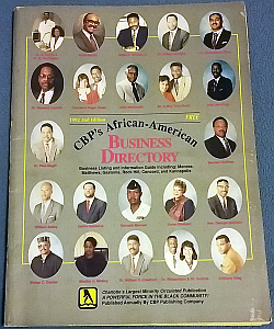 CBP's African American Business Directory 1992