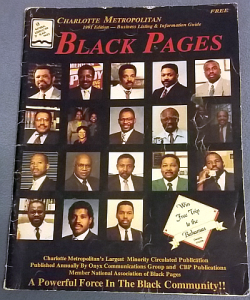 Charlotte Metropolitan Black Pages 1991